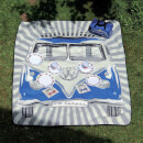 VW Collection Picnic Blanket (200 x 150cm) - Blue