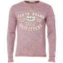 T-Shirt Homme Timperley Jersey Tokyo Laundry - Bordeaux