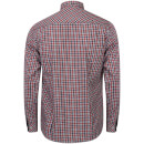 Tokyo Laundry Men's Sicily Checked Long Sleeve Shirt - Tango Red