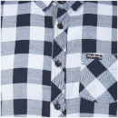 Tokyo Laundry Men's Alhambra Flannel Long Sleeve Shirt - White