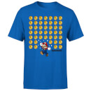 Nintendo Super Mario Coin Drop Heren T-shirt - Blauw