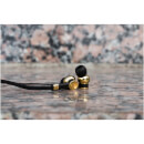 Master and Dynamic ME03 In Ear Earphones - Black/Brass