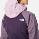 The North Face Women's Stratos Jacket Dark Eggplant PurpleBlack PlumPurple Agate