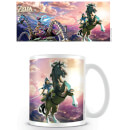 The Legend of Zelda: Breath of the Wild Coffee Mug (Guardian Chase)