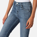 J Brand Women's Alana High Rise Crop Jeans with Buttons - Dreamer