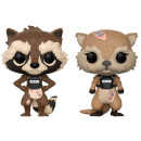 Figurines Pop! Rocket et Lylla - Les Gardiens de la Galaxie Tell Tales (Lot de 2)