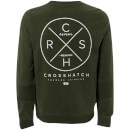 Crosshatch Men's Byram Sweatshirt - Climbing LVY