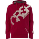 Crosshatch Men's Intersink Hoody - Barbados Red