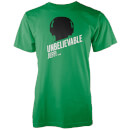 Unbelievable Jeff Men's Green T-Shirt
