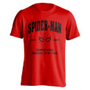 Camiseta Marvel Spider-Man: Homecoming Queens NY - Hombre - Rojo