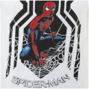 T-Shirt Homme Spider-Man Homecoming Symbole Spider Marvel - Blanc