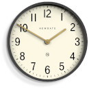 Newgate Mr Edwards Wall Clock - Matte Blizzard Grey