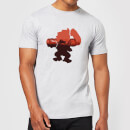 Nintendo Donkey Kong Silhouette Serengeti Men's Light Grey T-Shirt