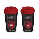 Game of Thrones House Targaryen Travel Mug