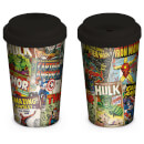 Marvel Retro Covers Travel Mug