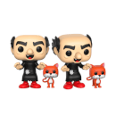The Smurfs Gargamel with Azrael Pop! Vinyl Figure