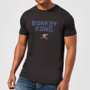 Nintendo Retro Donkey Kong Logo Men's Black T-Shirt