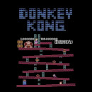 Nintendo Retro Donkey Kong Men's Black T-Shirt