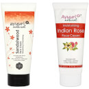 Ayuuri Sandalwood and Rose Face Creams