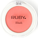 RUBY Professional Ruby Powder Blush in Coral