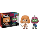 Figurines Vynl. Musclor et Trap Jaw