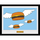 Bob's Burgers Flying Burgers - 16 x 12 Inches Framed Photograph