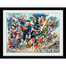 DC Universe Rebirth - 16 x 12 Inches Framed Photograph