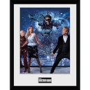Doctor Who Xmas Iconic 2016 - 16 x 12 Inches Framed Photograph