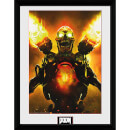 Doom Key Art - 16 x 12 Inches Framed Photograph