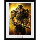 Doom Marine - 16 x 12 Inches Framed Photograph