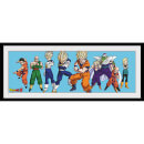 Dragonball Z Heroes - 30 x 12 Inches Framed Photograph