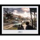 Fallout 4 Sanctuary Hills Panic - 16 x 12 Inches Framed Photograph