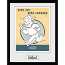 Fallout Stay Fit - 16 x 12 Inches Framed Photograph