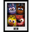 Five Nights at Freddy's Quad - 16 x 12 Inches Framed Photograph