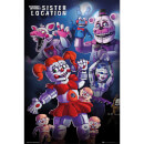 Five Nights at Freddy's Sister Location Group - 61 x 91.5cm Maxi Poster