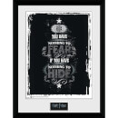 Harry Potter Fear - 16 x 12 Inches Framed Photograph