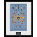 Harry Potter Quidditch World Cup 2 - 16 x 12 Inches Framed Photograph