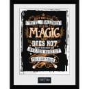 Harry Potter Wands Out - 16 x 12 Inches Framed Photograph