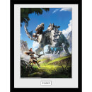 Horizon Zero Dawn Key Art - 16 x 12 Inches Framed Photograph
