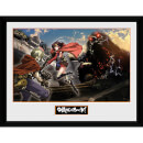 Kabaneri of the Iron Fortress Landscape - 16 x 12 Inches Framed Photograph