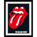 The Rolling Stones Lips - 16 x 12 Inches Framed Photograph