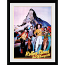 The Rolling Stones Tour 76 - 16 x 12 Inches Framed Photograph