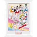 Sailor Moon Team - 16 x 12 Inches Framed Photograph