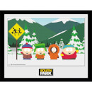 South Park Group - 16 x 12 Inches Framed Photograph