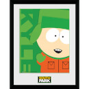 South Park Kyle - 16 x 12 Inches Framed Photograph