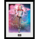 Suicide Squad Harley Quinn Stand - 16 x 12 Inches Framed Photograph