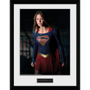 Supergirl Stand - 16 x 12 Inches Framed Photograph