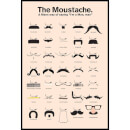 The Moustache Saying I'm A Man, Man - 61 x 91.5cm Maxi Poster