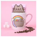 Pusheen Socks in a Mug - Unicorn
