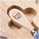 Original Stormtrooper - Cheeseboard with Knife Set